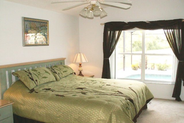 Florida Lakeside Villas Master Bedroom